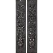 cast iron fireplace panels rx081