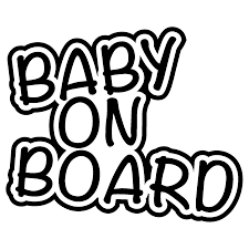 15 12 5cm Baby On Board Car Van Bus Window Bumper Vinyl Decal Safety Sticker Sign Cute And Interesting Fashion Sticker Decals Car Stickers Aliexpress