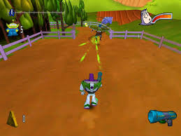 Buzz Lightyear of Star Command Video Game