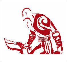 Kratos God Of War Vinyl Die Cut Decal Sticker Texas Die Cuts