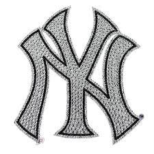 New York Yankees Mlb Bling Car Auto Emblem Adhesive Decal