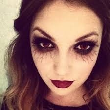 diary inspired by halloween makeup