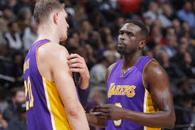 Reports: Lakers to bench Timofey Mozgov, Luol Deng for rest of season