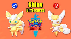 Pokémon Sword & Shield - All SHINY Gender Differences - YouTube