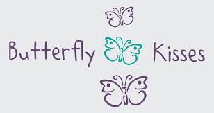 Children S Quotes Sayings Wall Decals Stickers Butterfly Kisses Vinyl Wall Design