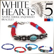 bracelet native beads men s american s