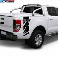 4x4 Off Road Graphics Car Vinyl Decal Pickup Trunk Decor Sticker For Ford Ranger F 150 Isuzu D Max L200 Navara Car Stickers Aliexpress