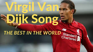 The Virgil Van Dijk Song ⚽ - YouTube