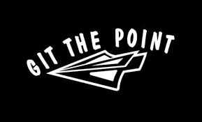 Git The Point Bow Hunting Window Decal Sticker Custom Sticker Shop