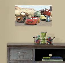 Disney Pixar Car 3 Wall Art Sticker Mural Decal Removable Vinyl Paper Print Gift Ebay