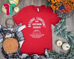 wisconsin badgers gift t shirt
