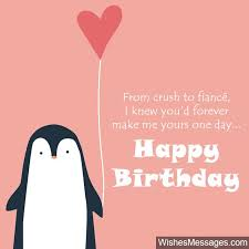 birthday wishes for fiance quotes and messages com