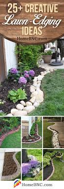 25 Best Lawn Edging Ideas And Designs For 2020