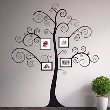 Black Family Tree Home D Eacute Cor Line Wall Decals