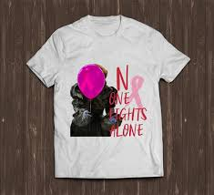 awesome pennywise no one fights alone