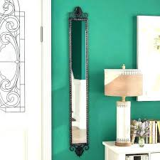 hang full length mirror wall hanging