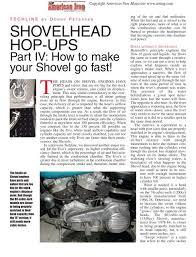 shovelhead hop ups part iv