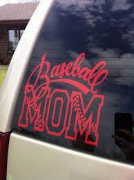 7x6inch Baseball Mom Vinyl Decal By Mmvinyldesigns On Etsy 7 00 Baseball Mom Baseball Car Decals Team Mom Baseball