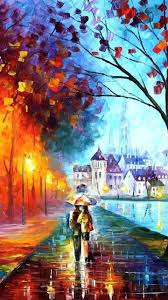 walking in rain with umbrella best hd