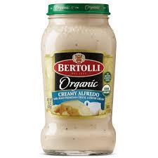 organic creamy alfredo pasta sauce