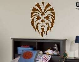 Chewie Wall Decal Etsy