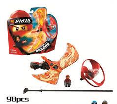 Con quay Ninja màu đỏ: Mua bán trực tuyến Bộ đồ chơi lắp ráp với ...