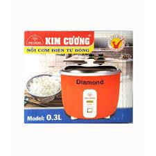 Nồi cơm điện 0.3 lít Kim Cương KC 0.3L - Chỉ 1 người ăn