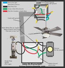 hardwire ceiling fan diagram diagram