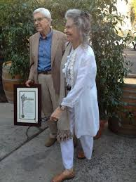 Founder Pierre Lafond and his wife, Wendy Foster, accepting an achievement  plaque from Santa Barbara Mayor, … | Santa barbara wineries, 50 and  fabulous, The fosters