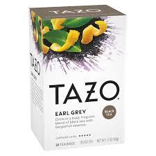 tazo earl grey black tea tea bags 20