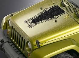 Buy Hood Skulls Hands Racing Stripe Rock Punk Hot Rod Car Truck Vinyl Sticker Decal