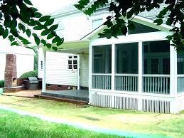 enclosure retractable porch kits