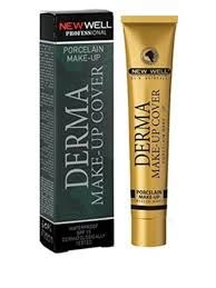 new well derma make up cover foundation
