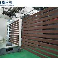 China Horizontal No Dig Wall Mount Black Modern Garden Slat Aluminum Fencing Panels China Fence Panels For House And Aluminum Slat Fence Panels Price