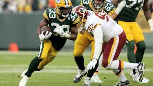 Aaron Jones leads Packers past Washington, 20-15