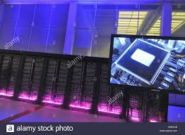 Ferrera Erbognone (Pavia, Italy), the Green Data Center, facility ...