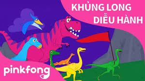 Khủng Long Diễu Hành | Bài hát về Khủng Long