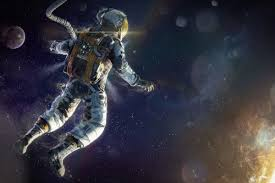 trippy astronaut in space wallpapers