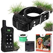 Pet Control Hq Dog Containment System Wireless Perimeter W 1 Or 2 Shock Collar Kit Remote Electric Proximity Fence Above Ground No Digging Or Undergro In 2020 Dog