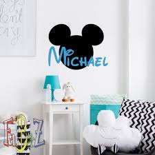 Mickey Mouse Wall Decals Canada And Friends Nursery Clubhouse Design Target Toys R Us Christmas Personalized Vamosrayos