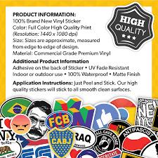 Norway Flag Vinyl Decal Sticker Car Bumper Adhesive Europe Oslo Norwegian