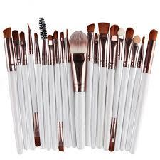 makeup brush sets synthetic eye shadow