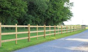 Morticed Post And Rail Fencing Jacksons Fencing