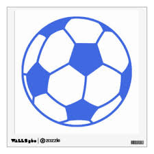 Soccer Wall Decals Stickers Zazzle