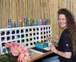 Tiny blooms from fire, silver, glass: Adele Stewart's enduring love for  flowers – Felt Blog
