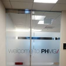 Frosted Privacy Vinyl Film For Windows Office Doors Cushing