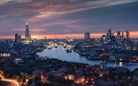 london city view 8k macbook pro retina