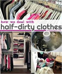 how we deal with half dirty clothes