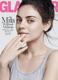 mila kunis geht makeup free auf unserer