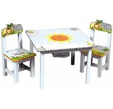 Safari Kids Table Chairs Set